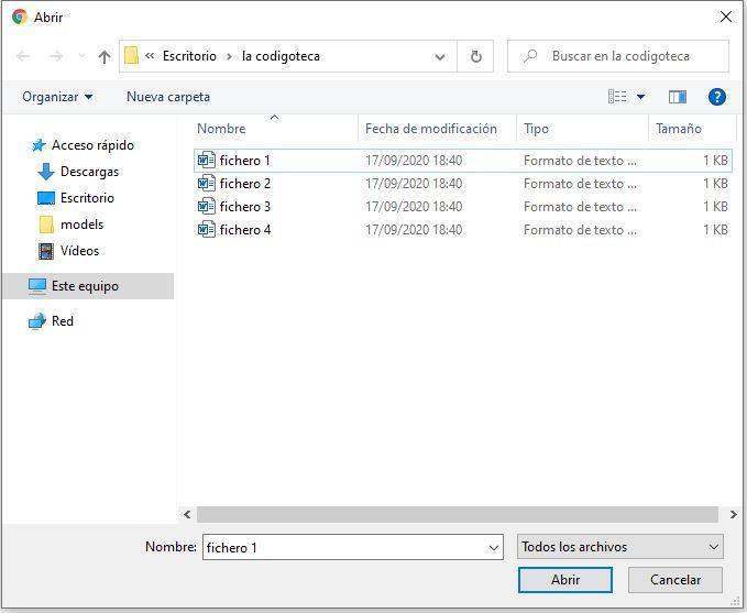 subir varios ficheros seleccionando de uno en uno