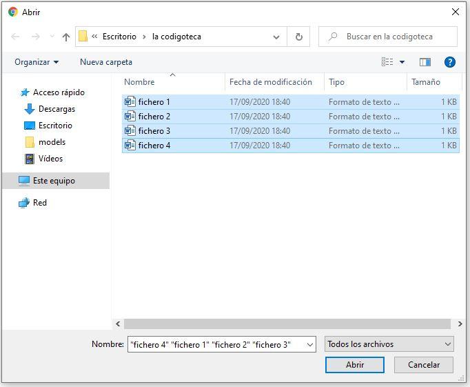 subir varios ficheros a la vez con HTML y PHP.