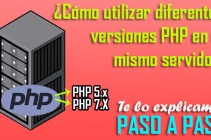 utilizar diferentes versiones php